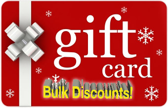 Gift Card Winter Bulk